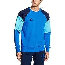adidas Condivo 16- Sudadera para hombre, otoño/invierno, hombre, color Blue/Collegiate Navy/Bright Cyan, tamaño M