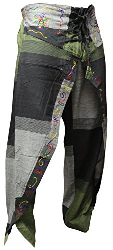 shopoholic fashion donna Multicolore Hippie scialle Pantaloni Pantaloni Hippy 7