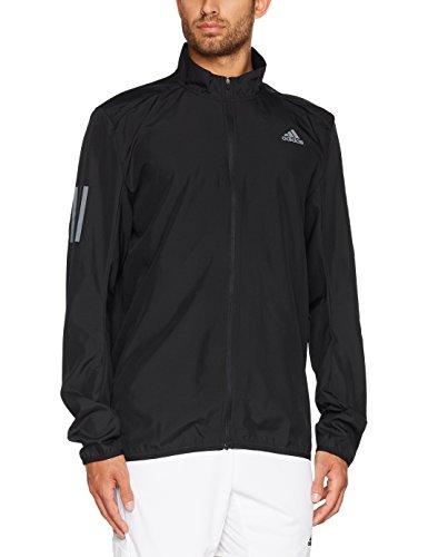 adidas Herren Response Wind Jacke, Black/Black, M (Wind Response Adidas Jacket-bekleidung)