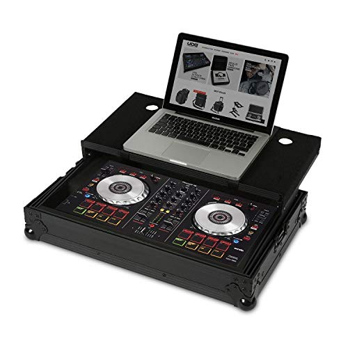 UDG FlightCase DDJ-400/SB3/SB2/RB + (Laptop), color negro