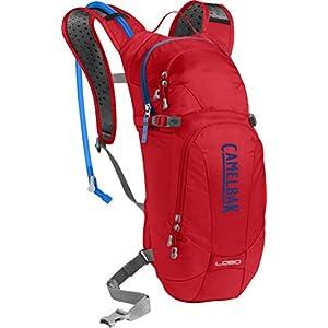 CamelBak Lobo - Mochila de hidratación, Rojo, 3 litros, Rojo (Racing Red/ Pitch Blue)