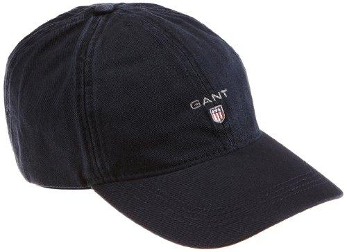 Gant Twill Cap, Gorra De Béisbol Para Hombre, Azul (Navy 410), Talla única