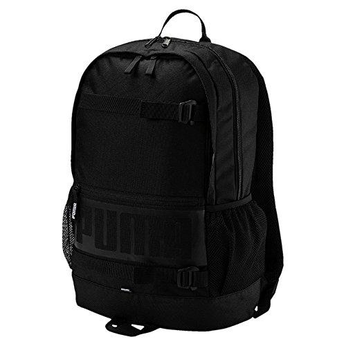 PUMA Deck Backpack Puma Black-Puma Black (Sportkleidung Puma)