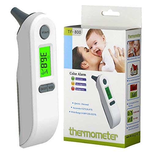 Velidy - Termómetro digital bebé infrarrojos, frente