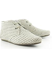 Maruti Gimlet Hairon Perfo Leather - 66.1072.16-B00 - White, 41, 7.5