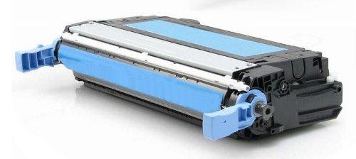 Eurotone Toner Cyan remanufactured für HP CLJ CP4005 CP4005N CP4005DN - CP 4005 N DN 4005N 4005DN ersetzt CB401A Alternative XXL - Clj Cp4005 Serie
