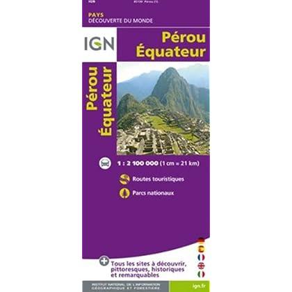 85130 PEROU/EQUATEUR 1/2M1