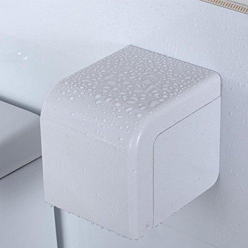 sdkky-perforated Tissue Box verstecktem Trottel, ABS Kunststoff Papier Handtuchhalter, vollständig geschlossener Wasser Proof Paper Halter, offenen Toilettenpapierhalter -