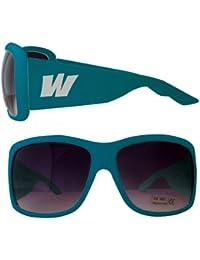 Waooh - Lunettes de soleil 910 - Design W - Monture Couleur - Protection UV400 Catégorie 3 - Verres fumés