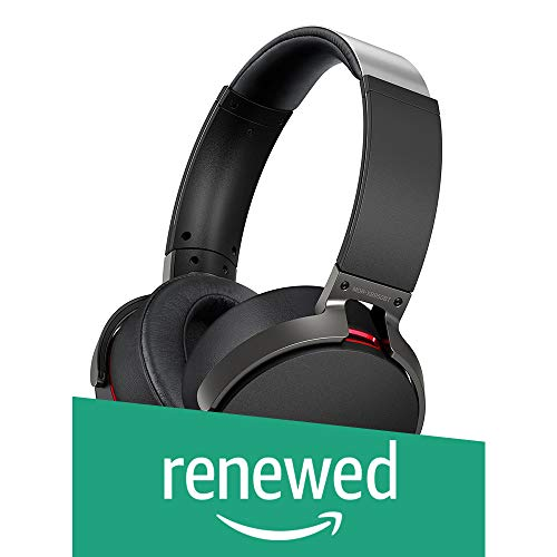 (Renewed) Sony MDR-XB950BT Over-Ear Extra Bass Headphones (Black)
