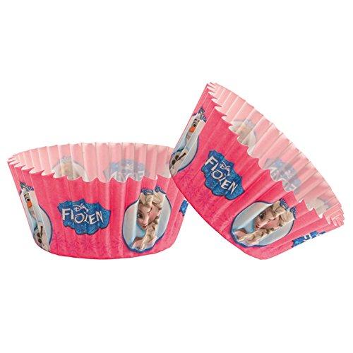 königin 339236Pack 50Muffinförmchen Cupcakes Papier Pink 5x 5x 3cm ()