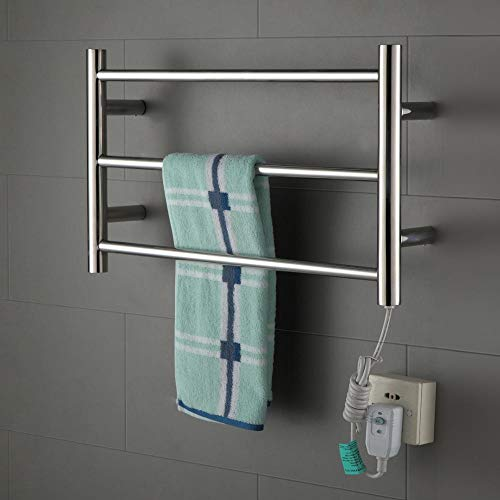 JackeyLove Beheiztes Handtuch-Bathroom Radiator Designer Flat Panel 60 * 660 * 110MM-30W Chrome