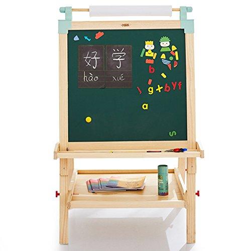 vholz Kinder Reißbrett Set Lift Bracket-Stil Kleine Tafel doppelseitige Magnettafel Sketchpad Größe Optional Staffeleien ( größe : 113-128cm ) (Kreide-brett-menü)