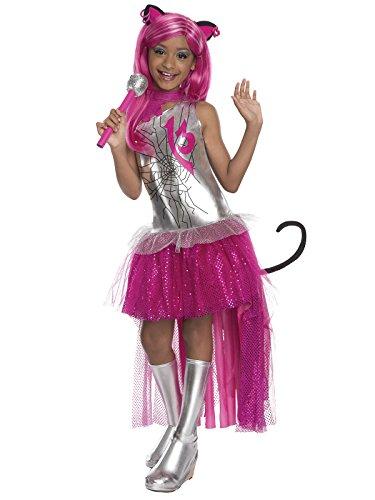 KULTFAKTOR GmbH Monster High Catty Noir Kinderkostüm Lizenzware -