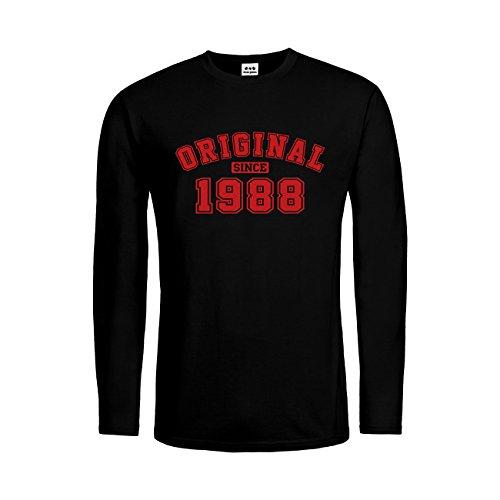 dress-puntos Herren Langarm T-Shirt Original since 1988 20drpt15-mtls01285-18 -