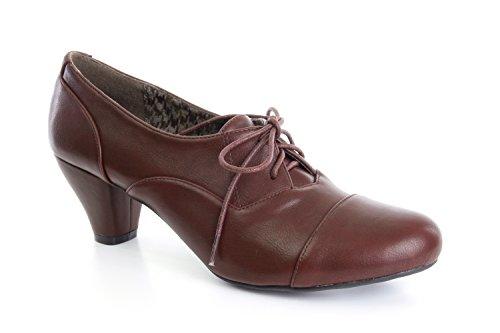 Andres Machado - AM4034 - Schuhe in Oxfordstil Wein