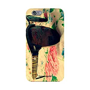 HomeSoGood Vintage And Class Multicolor 3D Mobile Case For iPhone 6 (Back Cover)