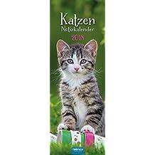 Streifenkalender Katzen 2018