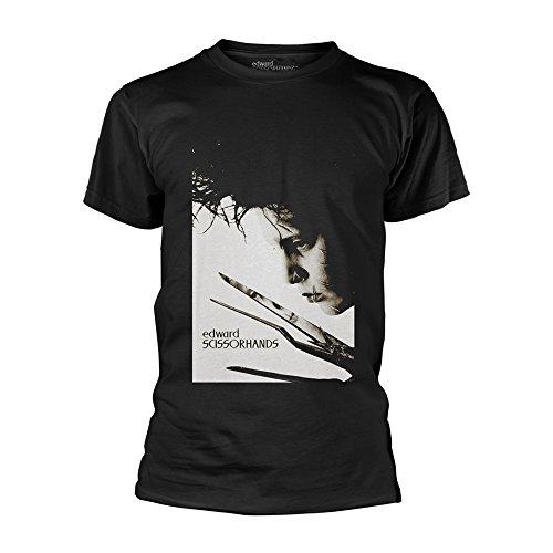Edward Scissorhands Johnny Depp Tim Burton Offiziell Männer T-Shirt Herren (XX-Large)