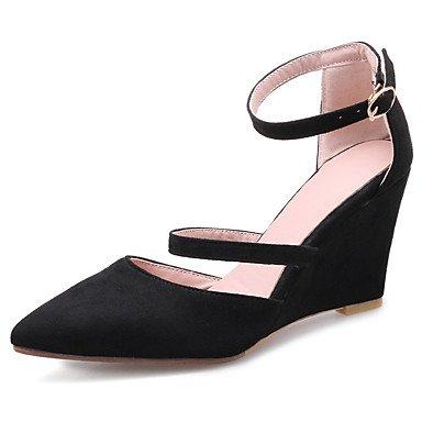 Zormey Frauen Schuhe Keilabsatz Schuhe D'Orsay Knöchelriemen Pumpe Mehr Farbe Verfügbar US5.5 / EU36 / UK3.5 / CN35