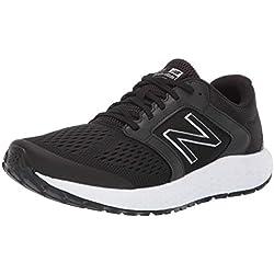 New Balance 520v5, Zapatillas de Running para Hombre, Negro (Black/White Lh5), 45 EU