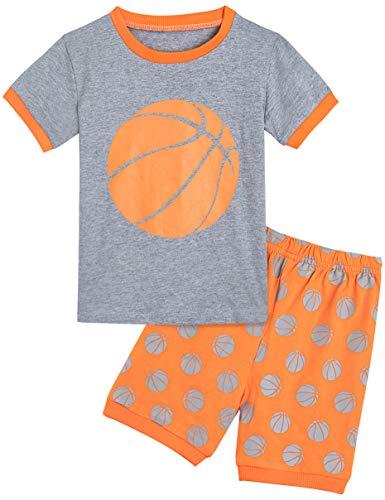 MOMBEBE COSLAND Pijama Manga Corta Niño Baloncesto