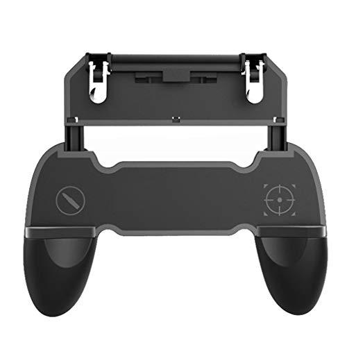 Bomcomi Handy-Game-Controller W10 Auslöseknopf Handgriff-Griff Shooter Ständer Gamepad Bracket -