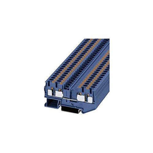 Phoenix Contact PT 4-Quattro BU 3211802 Durchgangsklemme Polzahl: 4 0.2 mm² 4 mm² Blau 1 St.