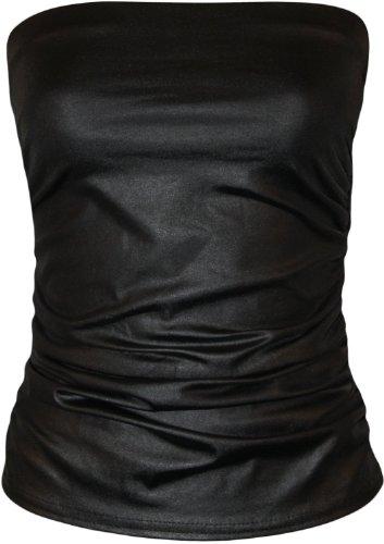top-bandeau-bustier-effet-cuir-avec-fronces-pour-femme-taille-s-m-36-38