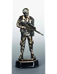 Resinfigur - Soldat inkl. Wunschgravur