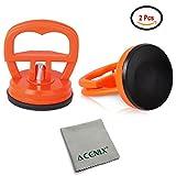 Acenix®, 2 forti ventose per aprire lo schermo LCD di iMac, iPhone, iPad, iPod, Samsung, Samsung Tab, includono panno per la pulizia
