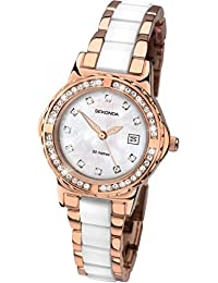 SEKONDA Womens Quartz Watch, Analogue Classic Display and None Strap 2022.27