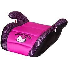 Sillita de auto Hello Kitty para niños, alzador - rosa y negro - 6 años