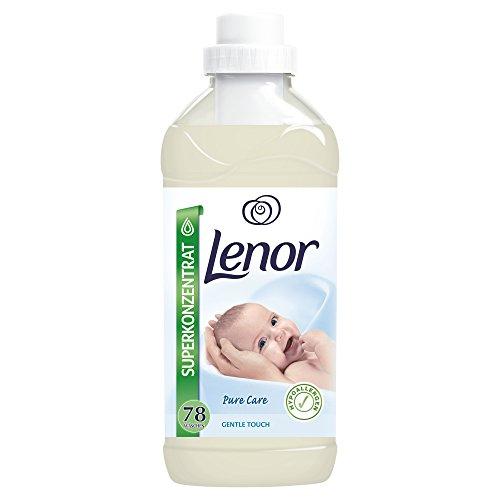 Lenor Gentle Touch Weichspüler, 1.95L, 6er Pack (6 x 78 Waschladungen)