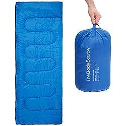 The Body Source - Saco de dormir rectangular (ligero)