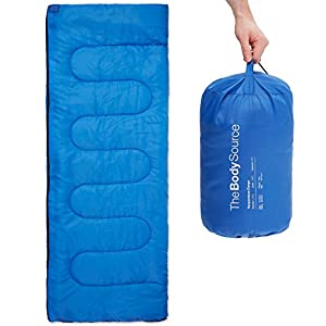 41whtWOqCBL. SS300  - Premium 200 Warm Lightweight Envelope Sleeping Bag - For Traveling, Camping, Hiking, Indoor & Outdoor Activities