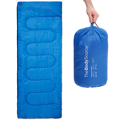41whtWOqCBL. SS500  - Premium 200 Warm Lightweight Envelope Sleeping Bag - For Traveling, Camping, Hiking, Indoor & Outdoor Activities
