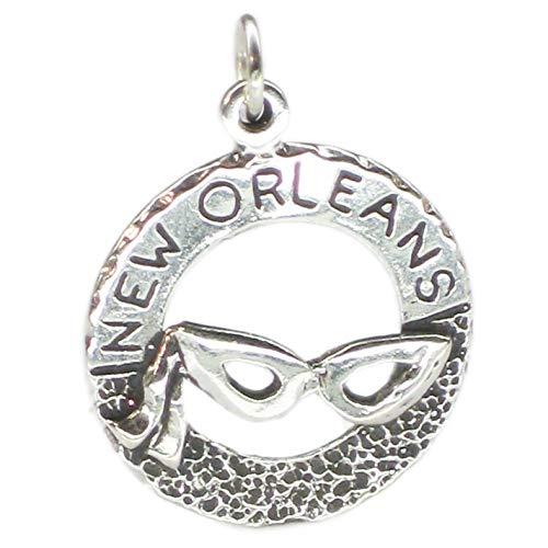 New Orleans Mardi Gras Masken - Mardi Gras Neue Orleans charm Anhänger