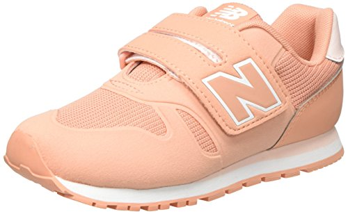 School Balance Old New (New Balance Unisex-Kinder Sneaker, Orange (Coral), 33 EU (1 UK))