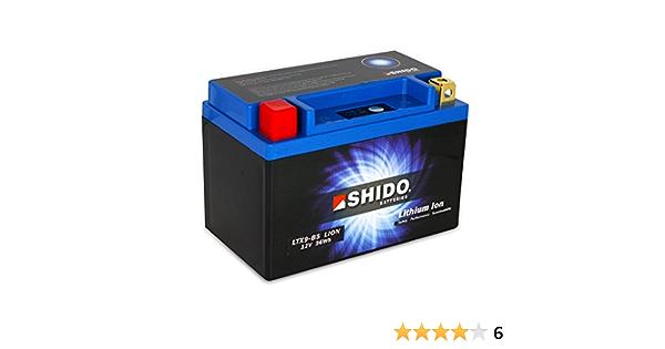 Batterie 12v 3ah 8ah Ytx9 Bs Lithium Ionen Shido 50812 Adly Atv Sport Aeon Cobra Rsii Aprilia Sportcity 300 Vb Auto