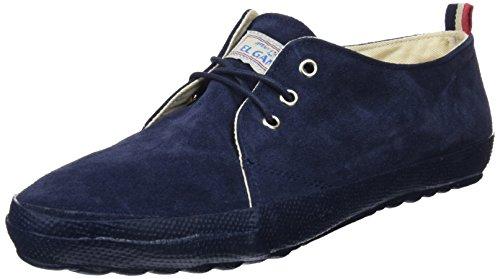 El-Ganso-Urban-Dark-Blue-Suede-Zapatillas-de-Deporte-para-Hombre