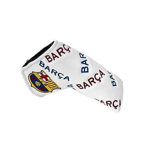 FC Barcelona blade puttercover & Wasserbasis, für Klinge puttercover- mit herausnehmbarer, mit Klettband, für OHP opening- ca. 17 cm, 15 x 6 cm im blister Aufstellfunktion Offizielles Fußball-Merchandising-Produkt