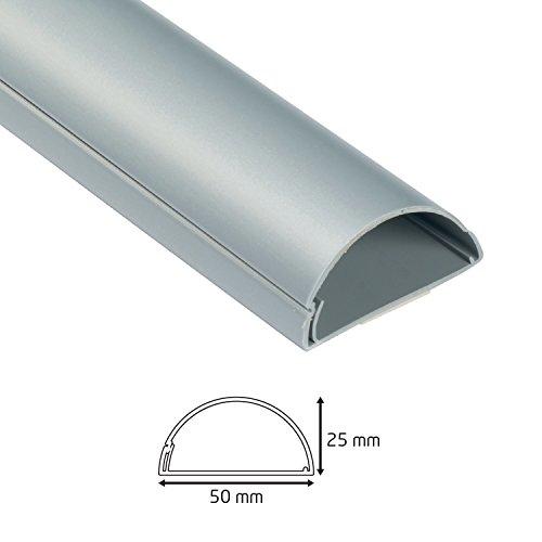 D-Line/ 1/m de Largo Negro /Cubierta para Cables/ /30/x 15/mm Tidy Cables y Cables para hogar y Oficina Uso |/ Sistema de gesti/ón de Cable /UE//1d3015b//EH Mini Trunking
