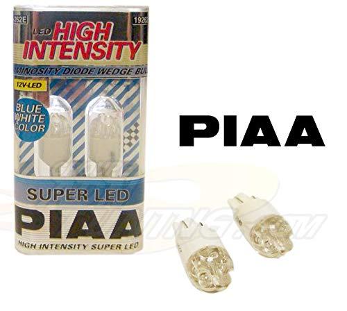 2 Ampoules T10 H-262 Super Leds Ultra Blanc-Bleu pour veilleuse - W5W Piaa