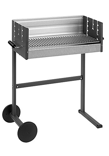 DANCOOK 7400 - Barbacoa con Parrilla, 62x25 cm, cocción Horizontal y Vertical (Parrilla 6 mm de Grueso)