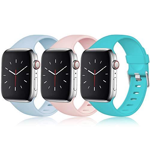 Maledan Compatible Apple Watch Correa 40mm 38mm, [Hebilla