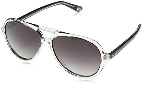 Michael Kors Unisex Sonnenbrille Caicos,, Gr. One size,Grau (Transparent Clear)