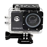 GOSMART Action Cameras 1080P Resolution 16 MP With Wifi and 2 Inch Screen Size Camcorder - ICON 7