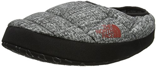 The North Face Herren NSE Tent Mule III Flache Hausschuhe, Grau (Phantom Grey Heather Print/Ketchup Red), 45.5-48 EU (Taille Fabricant: XL)