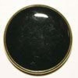 Vollmetallknöpfe émaillée 23 mm 1 pièce bleu marine